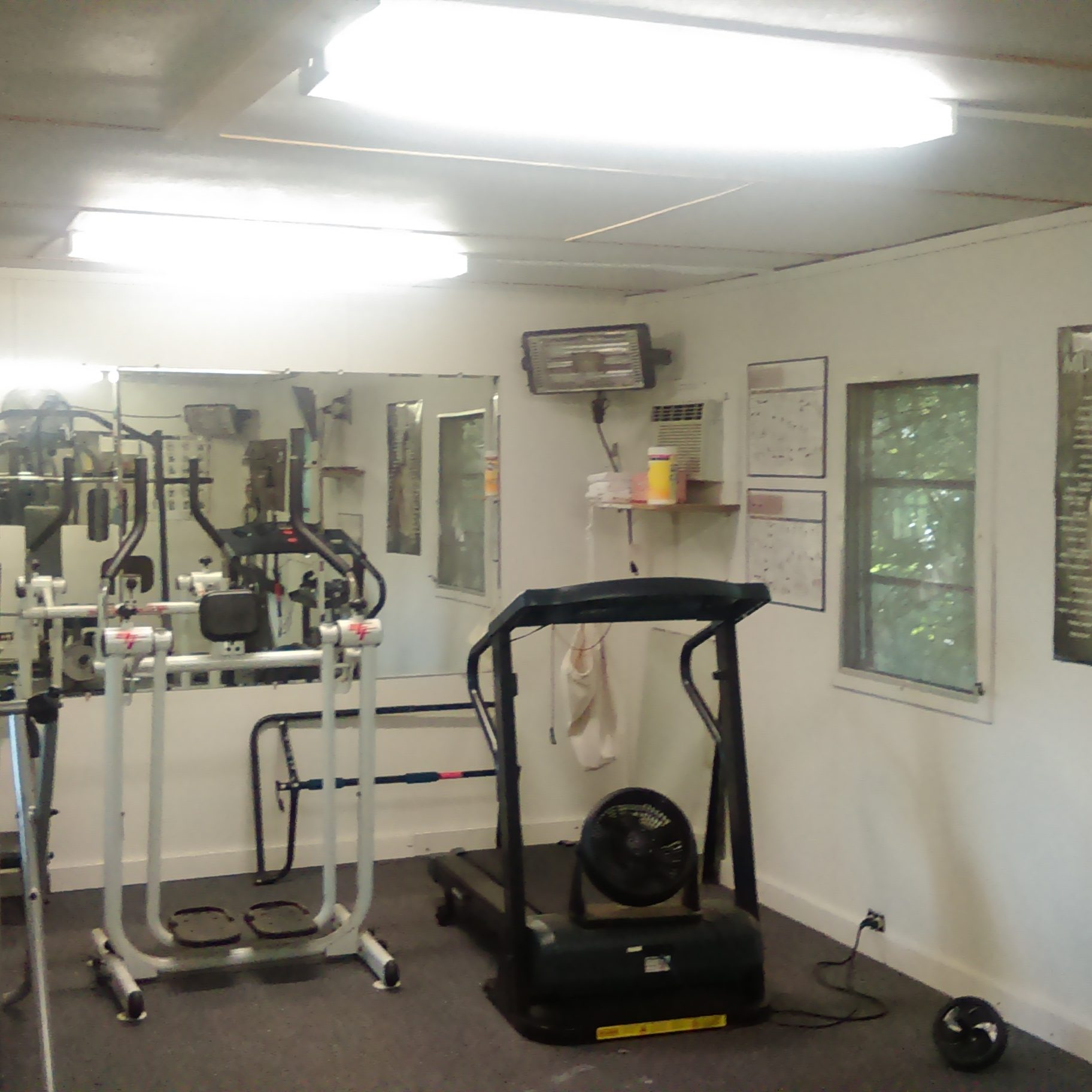 Exercise Room - Come pump it
